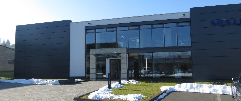 Müller GmbH, Niederdieten (Architekt Dipl.-Ing. Andreas Haus)